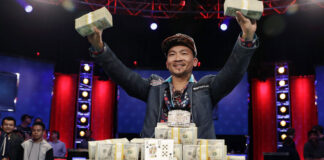wsop vainqueur gagnant poker