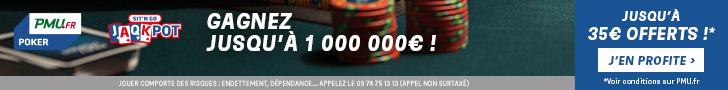 bonus pmu poker 35 euros
