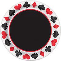 assiette poker