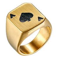 bague poker
