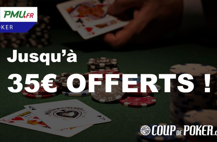 meilleur bonus pmu poker 35 euros