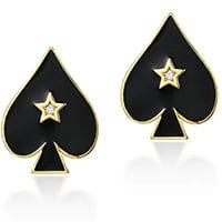 boucles d'oreilles poker