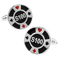 bouton de manchette poker