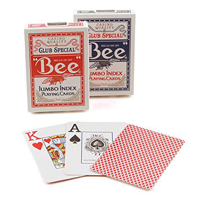 cartes poker toilees bee