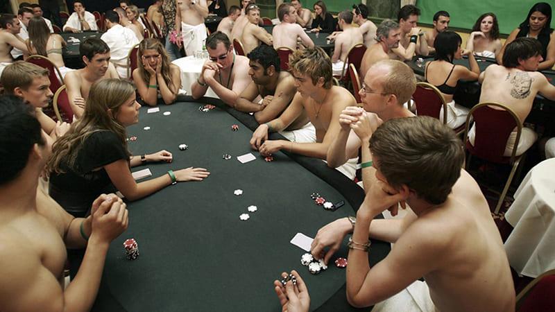 championnat strip poker
