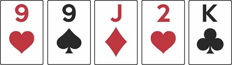 combinaison poker une paire