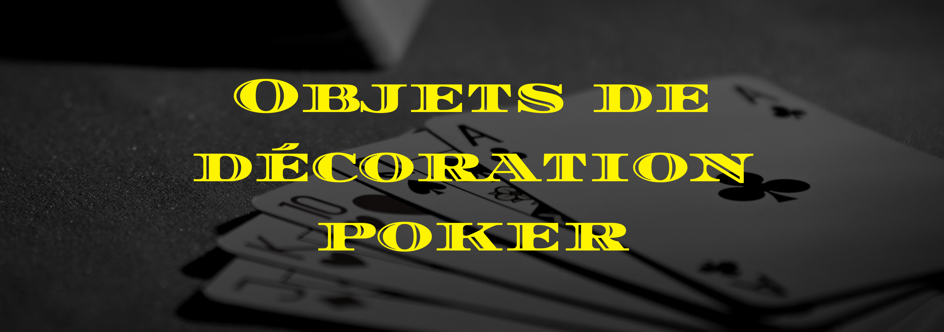cadeau decoration poker