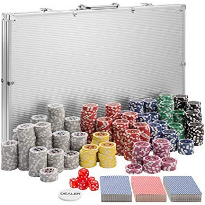 mallette poker 1000 jetons