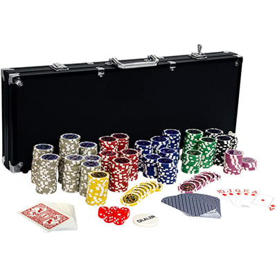 mallette poker 500 jetons