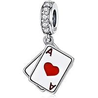 pendentif poker femme