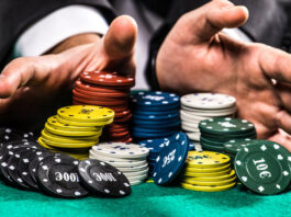 mises encheres poker