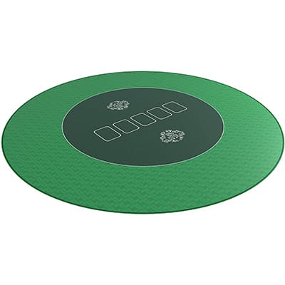 tapis poker rond