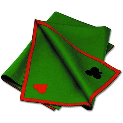 tapis poker coton