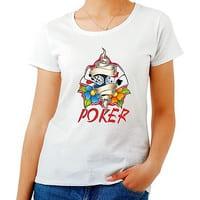 tee shirt poker femme