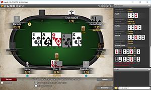 winamax table poker